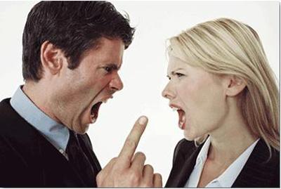 Brigas e conflitos do casal
