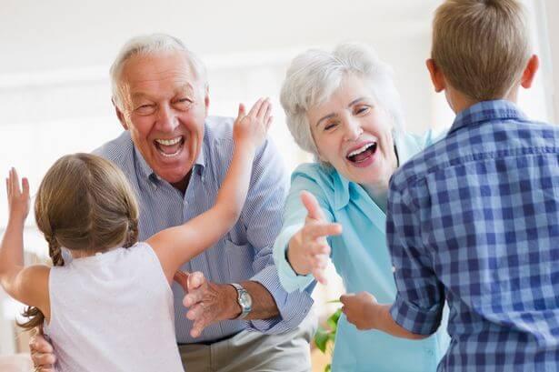O papel dos avós dentro da família
