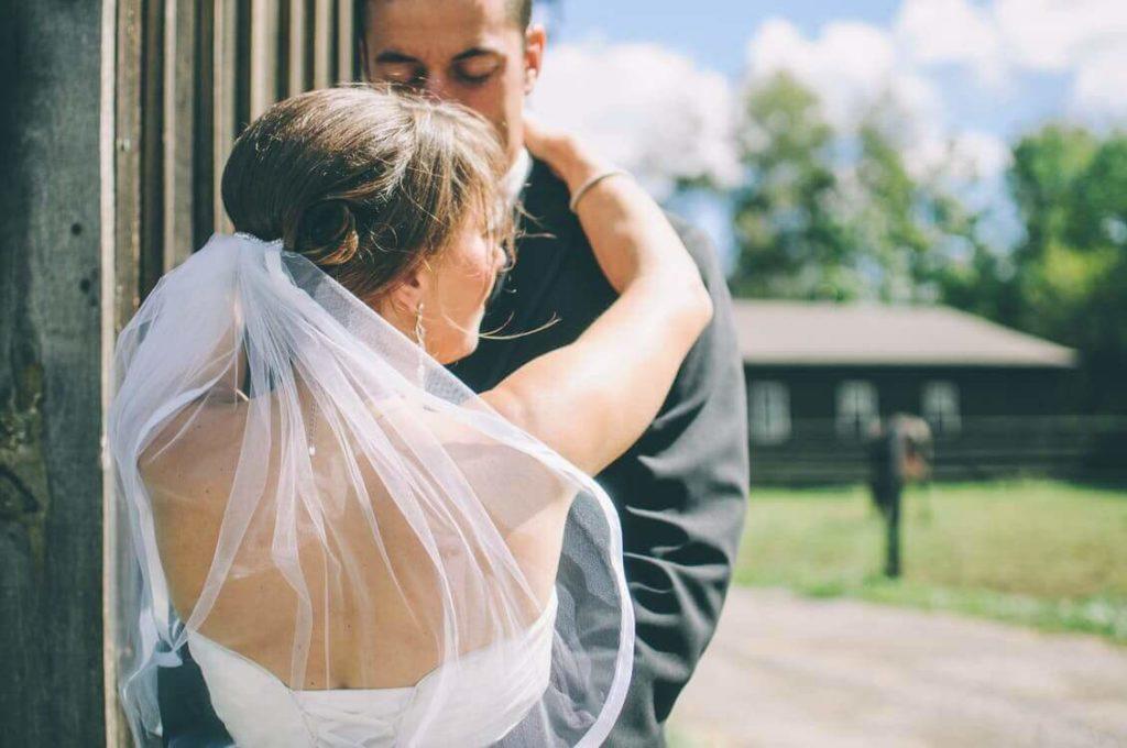 Casamento com a família