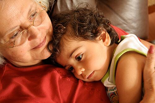 Relação avós e netos