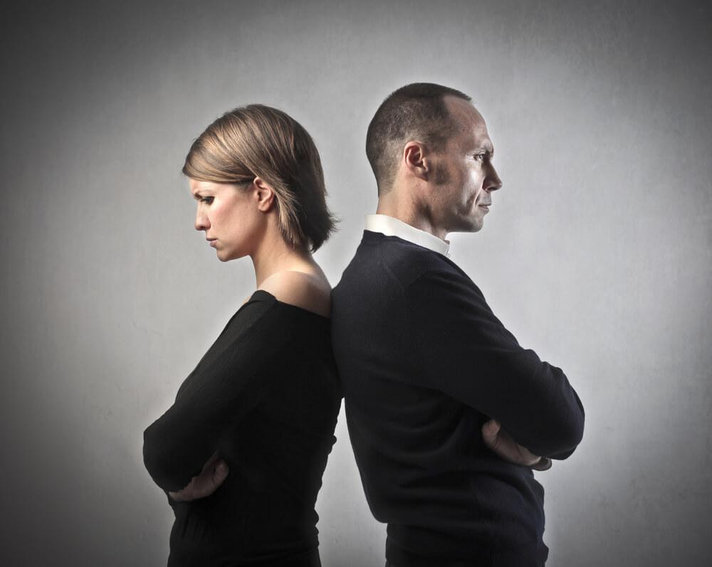 Separação do casal com filhos