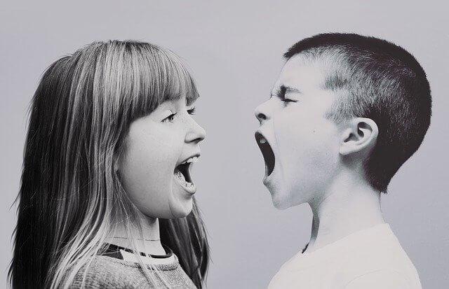 Irmãos sempre brigam