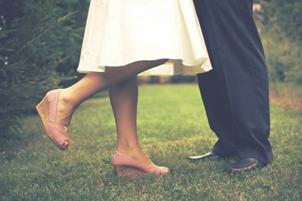 Casal com idades diferentes